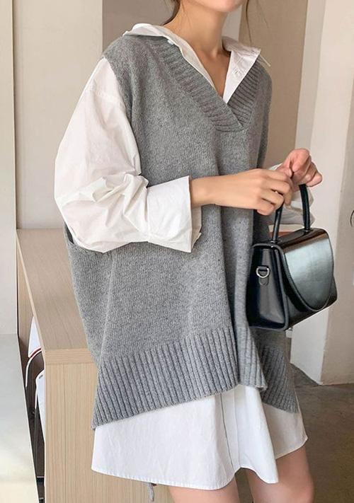 Những kiểu áo len đa phong cách khiến chị em văn phòng trẻ ra hẳn cả chục tuổi - Ảnh 8.