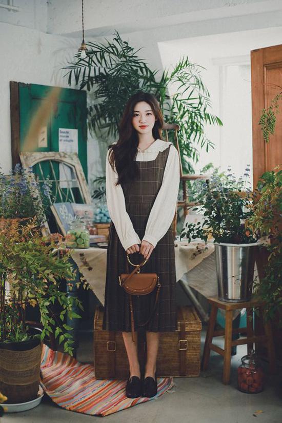 Những kiểu đầm cổ điển mùa thu cho nàng công sở - Ảnh 9.