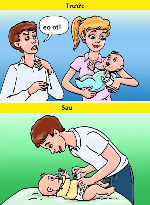 10 khác biệt hài hước trước và sau khi có con - Ảnh 8.