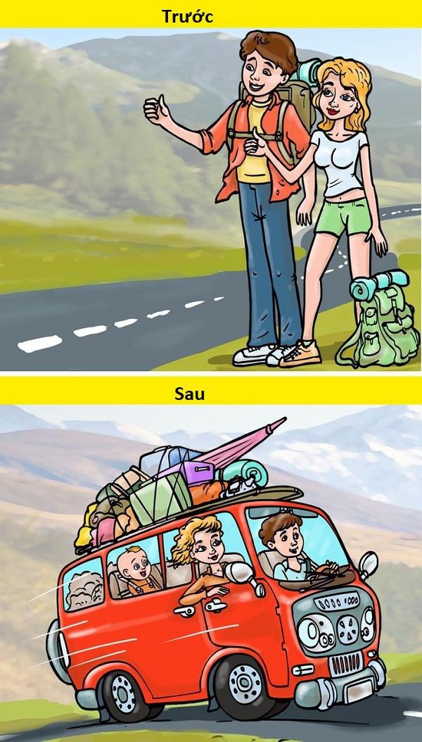 10 khác biệt hài hước trước và sau khi có con - Ảnh 10.