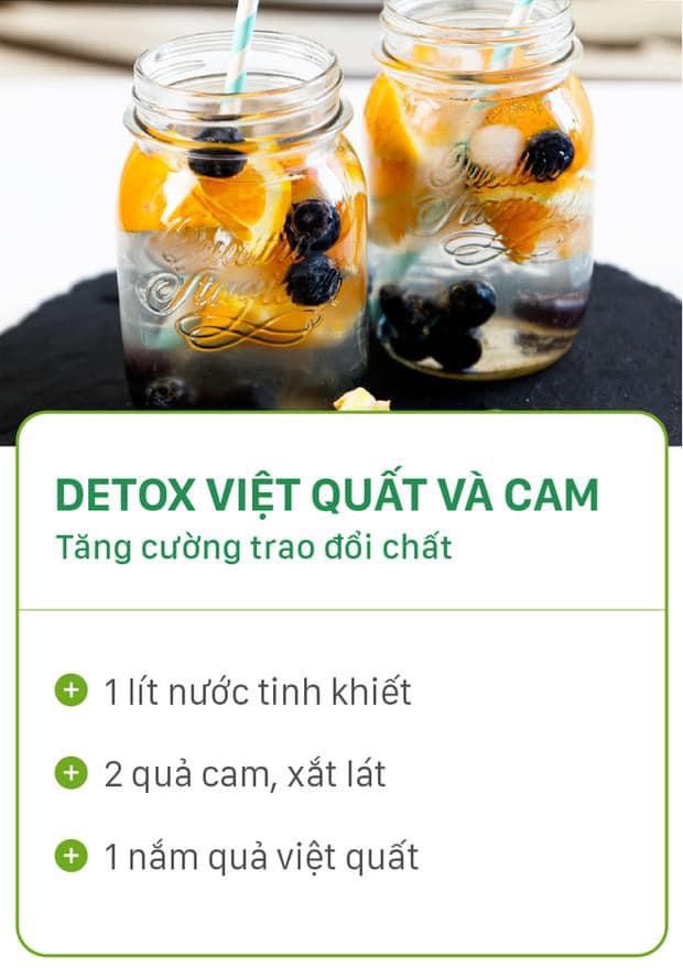 8 công thức tự chế nước uống detox tại nhà, không những tiết kiệm chi phí mà còn giúp nàng da đẹp dáng xinh - Ảnh 2.