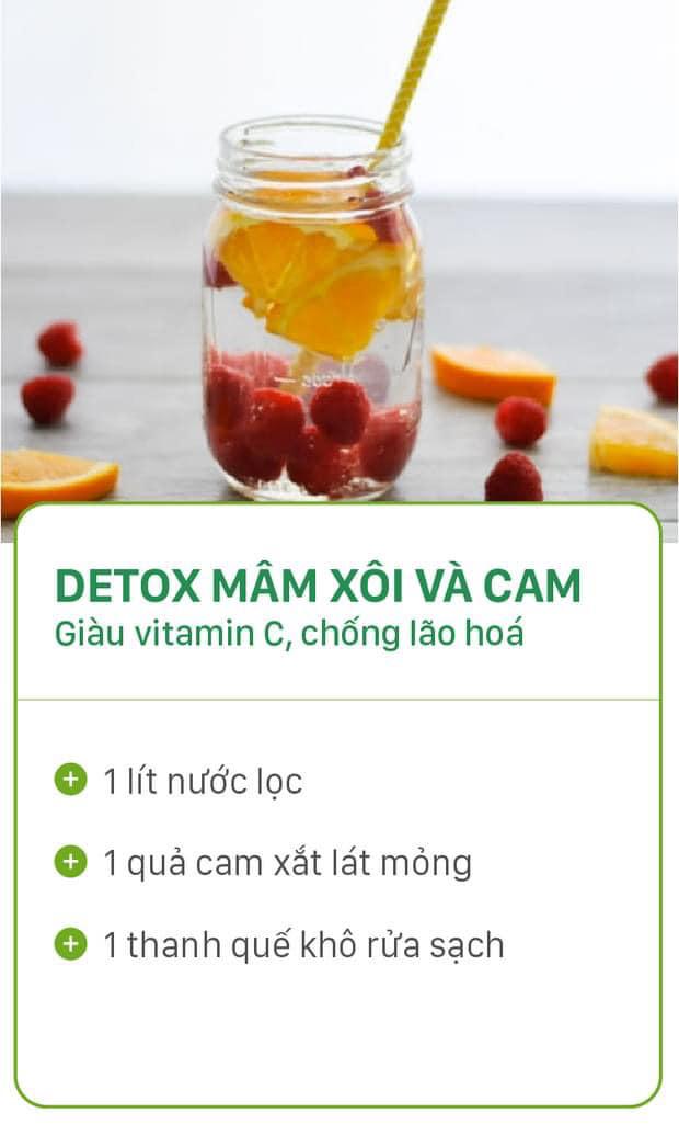 8 công thức tự chế nước uống detox tại nhà, không những tiết kiệm chi phí mà còn giúp nàng da đẹp dáng xinh - Ảnh 3.