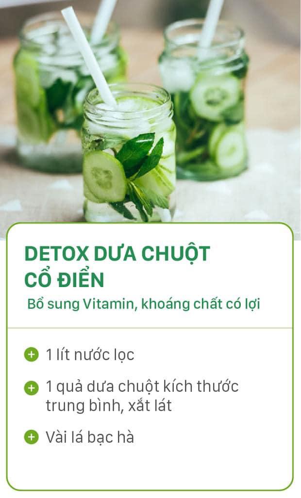 8 công thức tự chế nước uống detox tại nhà, không những tiết kiệm chi phí mà còn giúp nàng da đẹp dáng xinh - Ảnh 4.