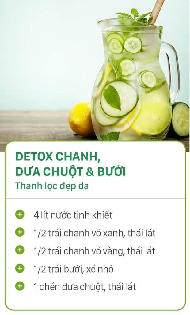 8 công thức tự chế nước uống detox tại nhà, không những tiết kiệm chi phí mà còn giúp nàng da đẹp dáng xinh - Ảnh 5.