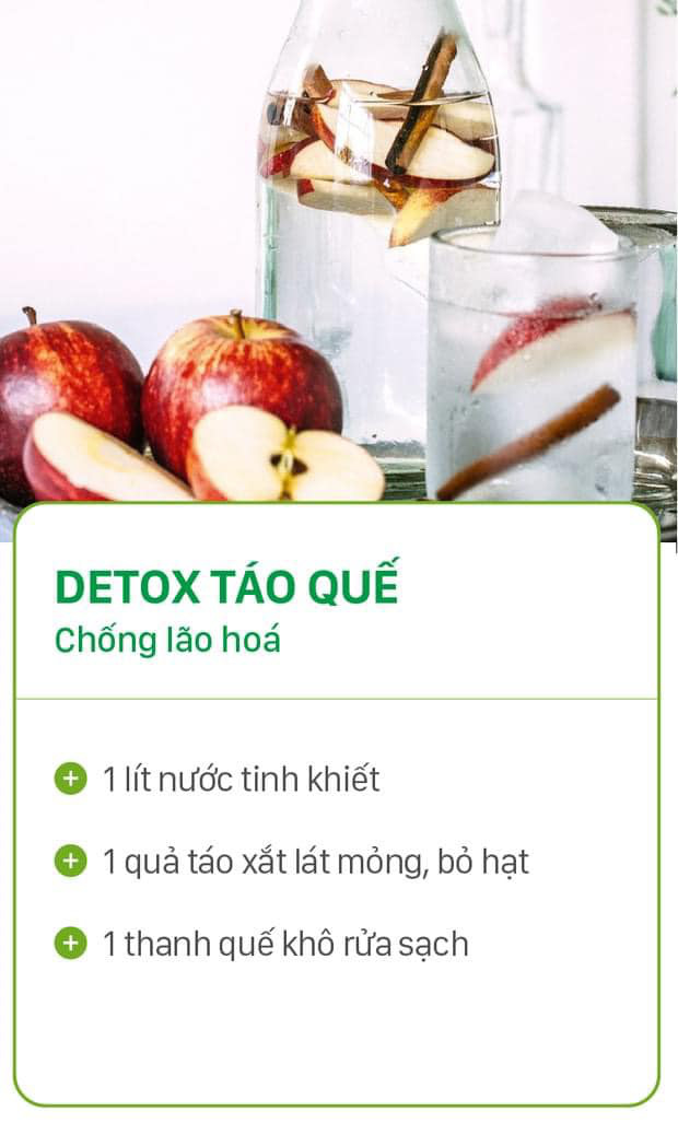 8 công thức tự chế nước uống detox tại nhà, không những tiết kiệm chi phí mà còn giúp nàng da đẹp dáng xinh - Ảnh 6.