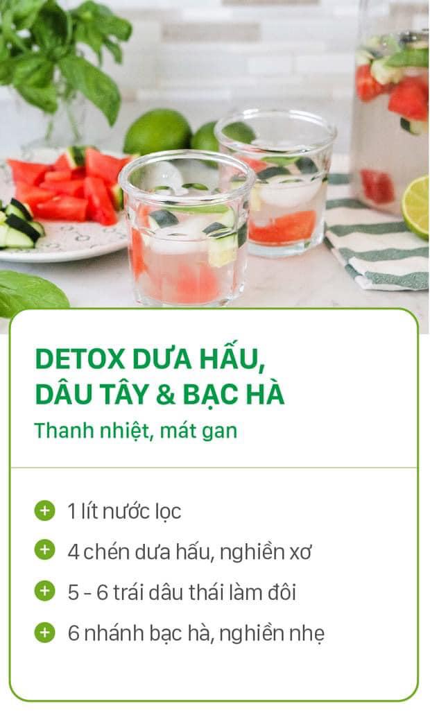 8 công thức tự chế nước uống detox tại nhà, không những tiết kiệm chi phí mà còn giúp nàng da đẹp dáng xinh - Ảnh 7.