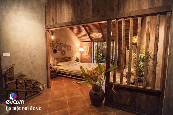 Muốn có khu tắm tiên, 8X vác tre, nứa về giữa thủ đô cải tạo sân vườn 55m2 đẹp mê - Ảnh 13.