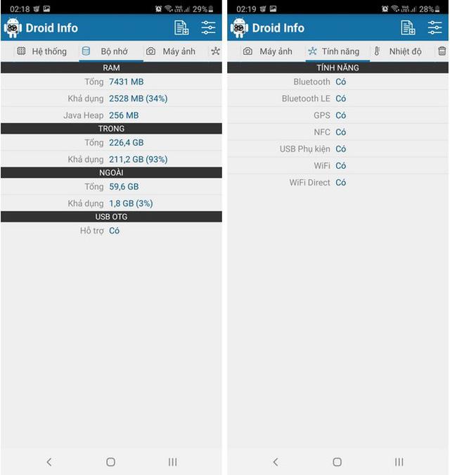 Hướng dẫn cách kiểm tra cấu hình chi tiết của smartphone và máy tính bảng - Ảnh 3.