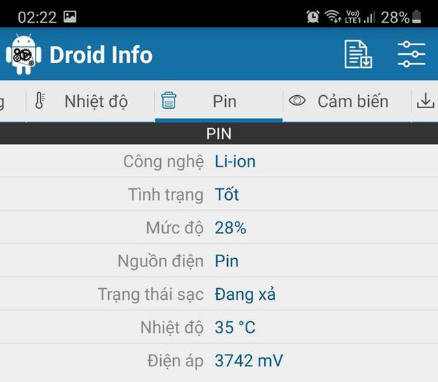 Hướng dẫn cách kiểm tra cấu hình chi tiết của smartphone và máy tính bảng - Ảnh 4.
