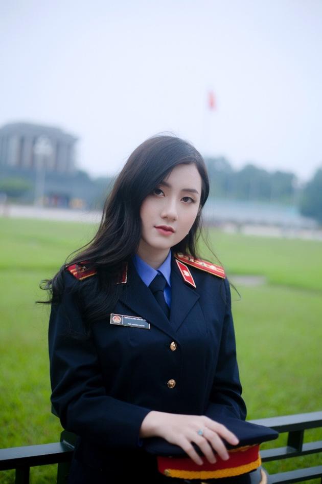 Ngắm vẻ đẹp lấp lánh của hot girl Đại học Kiểm sát Hà Nội - Ảnh 5.