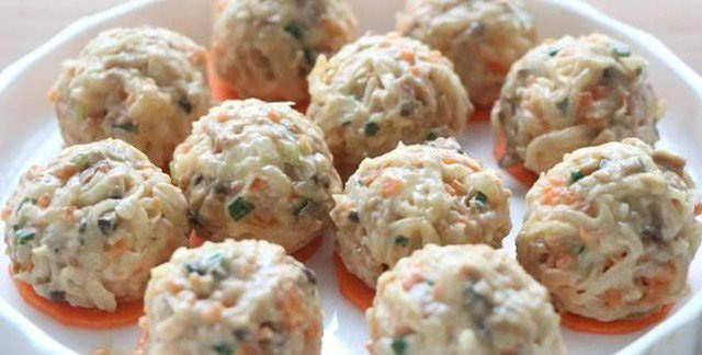 Thịt viên rau củ ít thịt nhiều rau không ngấy mà ngon hết sảy - Ảnh 7.