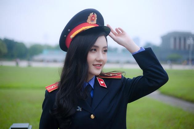 Ngắm vẻ đẹp lấp lánh của hot girl Đại học Kiểm sát Hà Nội - Ảnh 7.