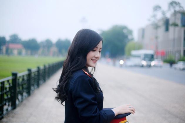 Ngắm vẻ đẹp lấp lánh của hot girl Đại học Kiểm sát Hà Nội - Ảnh 9.