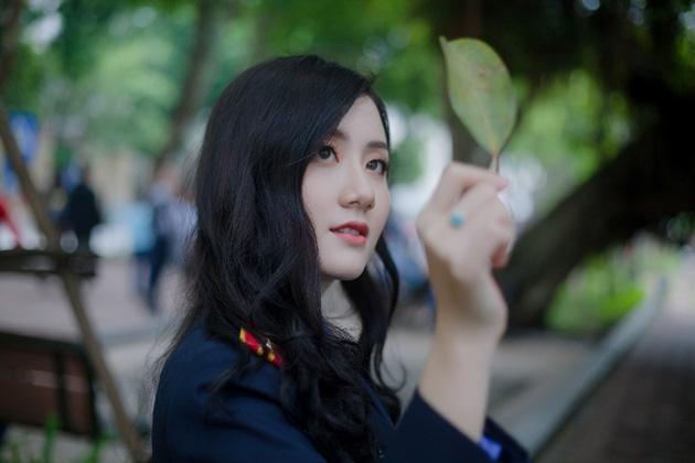 Ngắm vẻ đẹp lấp lánh của hot girl Đại học Kiểm sát Hà Nội - Ảnh 10.