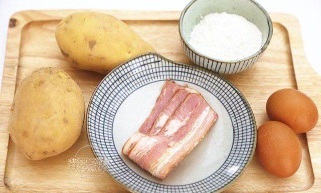 Bánh trứng khoai tây vừa đẹp mắt lại đủ chất dinh dưỡng cho cả nhà - Ảnh 2.