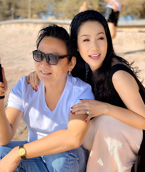 Trịnh Kim Chi quấn quýt chồng đại gia - Ảnh 2.