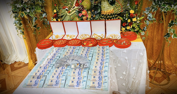 Đám cưới với hồi môn siêu khủng ở Đồng Nai: Lời chia sẻ của người chị tặng em gái 49 cây vàng và 2,5 tỷ - Ảnh 2.