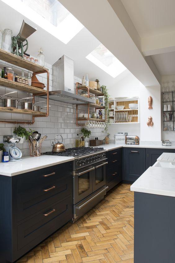 9 ý tưởng thiết kế kệ lưu trữ siêu xinh cho nhà bếp - Ảnh 11.