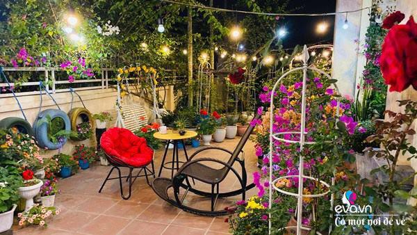 Chồng bỏ tiền mua lốp xe cũ, mẹ 8x trồng hoa, sau 2 năm thành mảnh vườn 200m2 tuyệt đẹp - Ảnh 7.