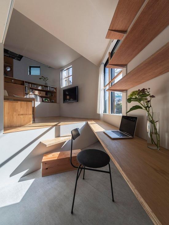 Mê cung trong căn nhà 3 tầng khi mặt sàn được chia thành 16 độ cao khác nhau - Ảnh 5.