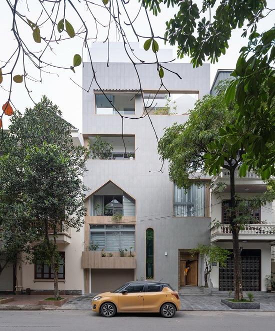 Căn nhà chứa cả một con phố ở Nam Định - Ảnh 1.