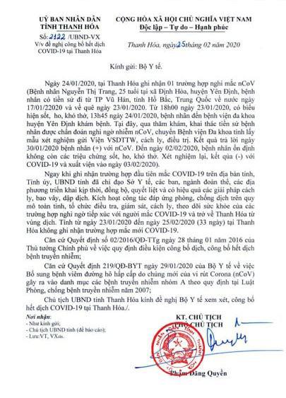 Hơn 1 tháng không có ca mắc mới, Thanh Hóa  đề nghị công bố hết dịch COVID-19 - Ảnh 2.