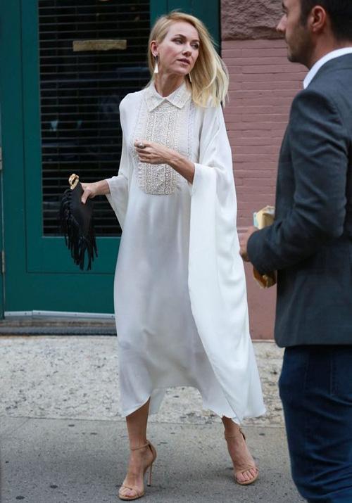 Những kiểu váy trắng mùa hè - Ảnh 5.