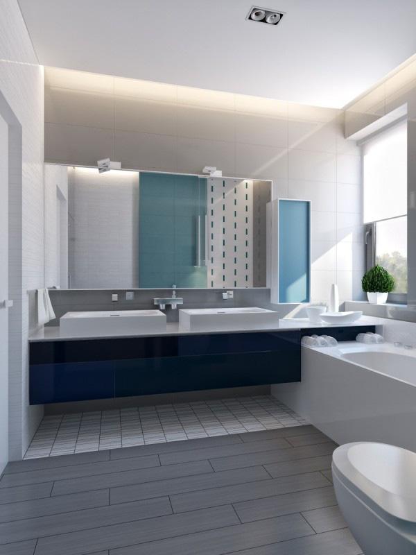 Ngôi nhà hiện đại sử dụng nội thất dạng hình học độc đáo - Ảnh 9.