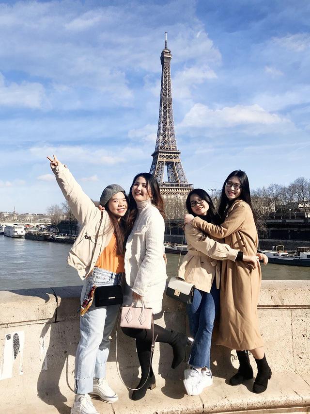 Nhóm bạn thân đại học cùng nhau sang Pháp du học thạc sĩ  - Ảnh 3.