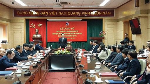 Công bố Quyết định của Thủ tướng Chính phủ điều động, bổ nhiệm đồng chí Nguyễn Thanh Long giữ chức vụ Thứ trưởng Bộ Y tế - Ảnh 2.