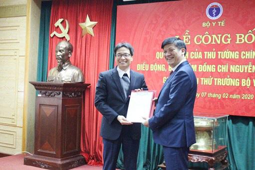 Công bố Quyết định của Thủ tướng Chính phủ điều động, bổ nhiệm đồng chí Nguyễn Thanh Long giữ chức vụ Thứ trưởng Bộ Y tế - Ảnh 1.
