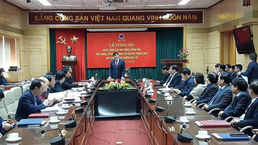 Công bố Quyết định của Thủ tướng Chính phủ điều động, bổ nhiệm đồng chí Nguyễn Thanh Long giữ chức vụ Thứ trưởng Bộ Y tế - Ảnh 3.