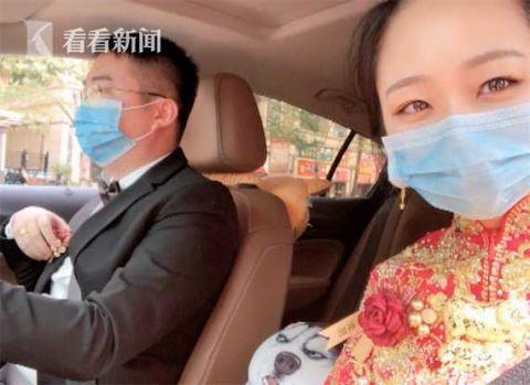 Cô dâu ngầu nhất mùa COVID-19, tự lái xe đến nhà trai cử hành hôn lễ và chia sẻ lý do khiến cộng đồng mạng thích thú - Ảnh 2.