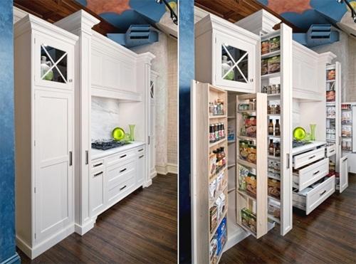 Những căn bếp nhìn vào không thấy một đồ đạc gì nhưng ai cũng phải mê mẩn - Ảnh 2.