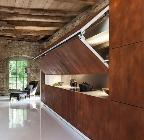 Những căn bếp nhìn vào không thấy một đồ đạc gì nhưng ai cũng phải mê mẩn - Ảnh 12.