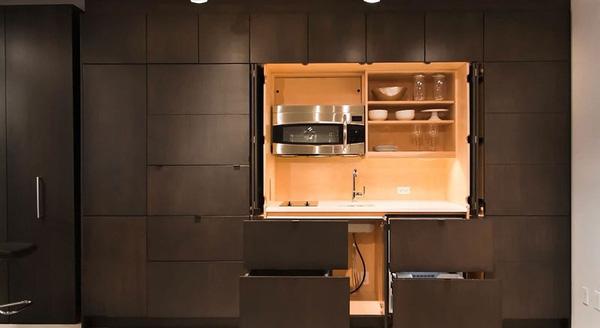 Những căn bếp nhìn vào không thấy một đồ đạc gì nhưng ai cũng phải mê mẩn - Ảnh 5.