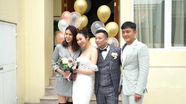 Mỹ nhân Hong Kong cưới qua livestream - Ảnh 2.