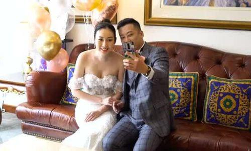 Mỹ nhân Hong Kong cưới qua livestream - Ảnh 3.