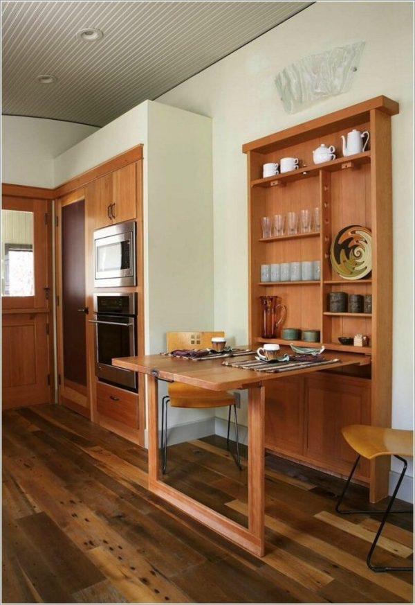 Nếu bạn có một căn nhà nhỏ thì đừng bỏ qua những mẫu kệ để đồ kết hợp bàn ghế vừa đẹp vừa tiện dụng này - Ảnh 5.