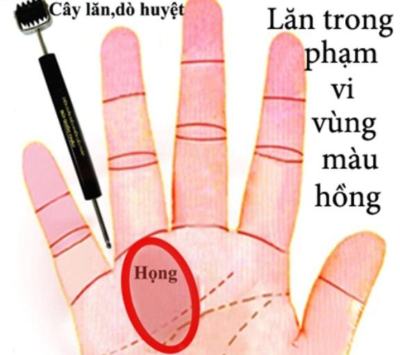 Cách xoa cổ tay chữa ho khan, bấm huyệt lòng bàn tay trị ho có đờm - Ảnh 6.