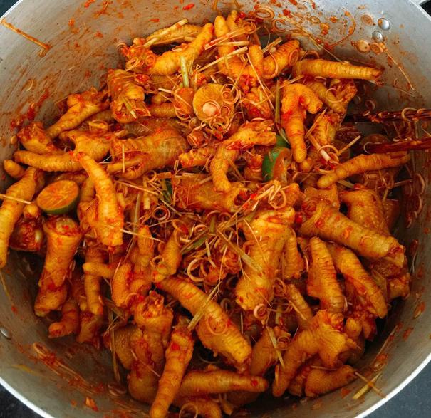 Cách làm chân gà xốt Thái chua, ngọt, giòn ngon không thể cưỡng lại - Ảnh 6.