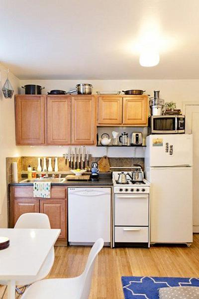 15 căn bếp nhỏ nhưng vẫn khiến người khác phải trầm trồ vì tiện nghi không thiếu thứ gì - Ảnh 11.