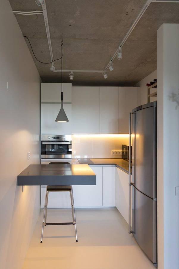 15 căn bếp nhỏ nhưng vẫn khiến người khác phải trầm trồ vì tiện nghi không thiếu thứ gì - Ảnh 12.