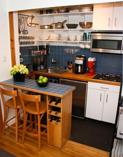 15 căn bếp nhỏ nhưng vẫn khiến người khác phải trầm trồ vì tiện nghi không thiếu thứ gì - Ảnh 16.