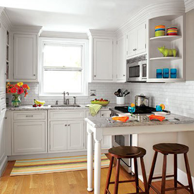 15 căn bếp nhỏ nhưng vẫn khiến người khác phải trầm trồ vì tiện nghi không thiếu thứ gì - Ảnh 4.