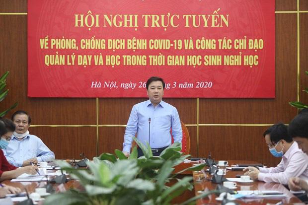 Hà Nội: Đề nghị giữ nguyên phương án tuyển sinh lớp 10 với 4 môn thi - Ảnh 1.