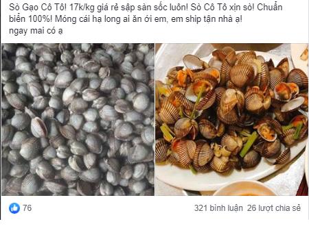 Sò gạo giá rẻ sập sàn chỉ 17.000 đồng/kg được bán đầy trên chợ mạng - Ảnh 3.