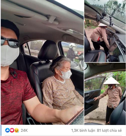Thấy cụ bà gần 90 tuổi đứng chờ xe buýt, tài xế mời cụ lên xe chở đến địa điểm cụ cần cùng hành động đặc biệt - Ảnh 2.