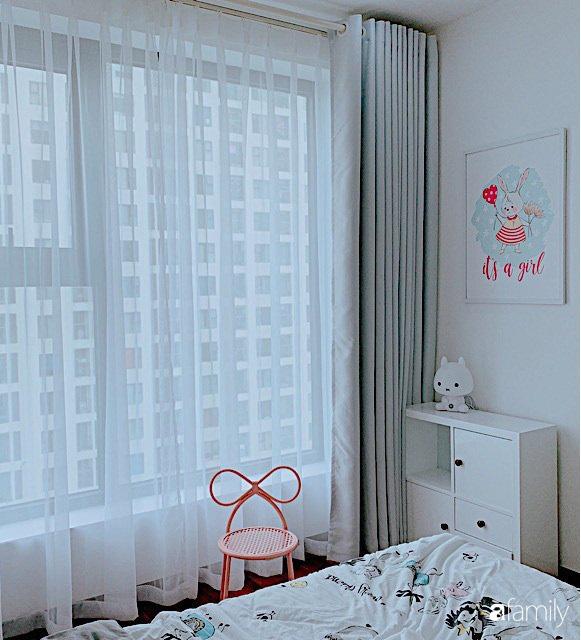 Căn hộ 90m² như được nhân đôi không gian nhờ cách decor khéo léo với sắc trắng ở Hà Nội - Ảnh 21.