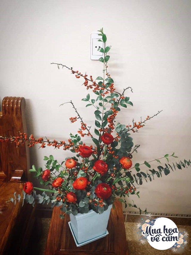 """Muôn kiểu cắm hoa mao lương đẹp """"không đụng hàng"""", nhà mẹ Việt rực sắc đón ngày 8/3 - Ảnh 5."""
